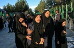 تشییع پیکر سه شهید مدافع حرم در قم