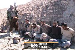 نخستین فیلم از ربایش مرزبانان ایرانی توسط یک گروهک تروریستی