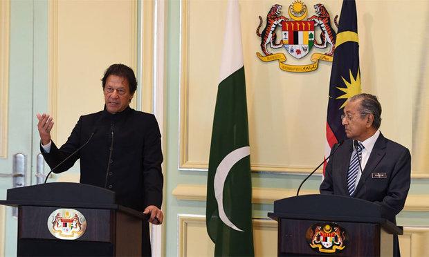 پاکستان اور ملائیشیا کے وزراء اعظم کا مشترکہ پریس کانفرنس سے خطاب