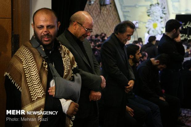 مراسم یادبود جهادگر شهید امیر اژدری