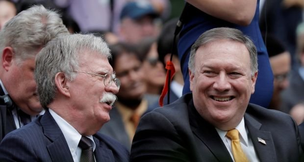 Pompeo and Bolton want to torture the Iranian nation