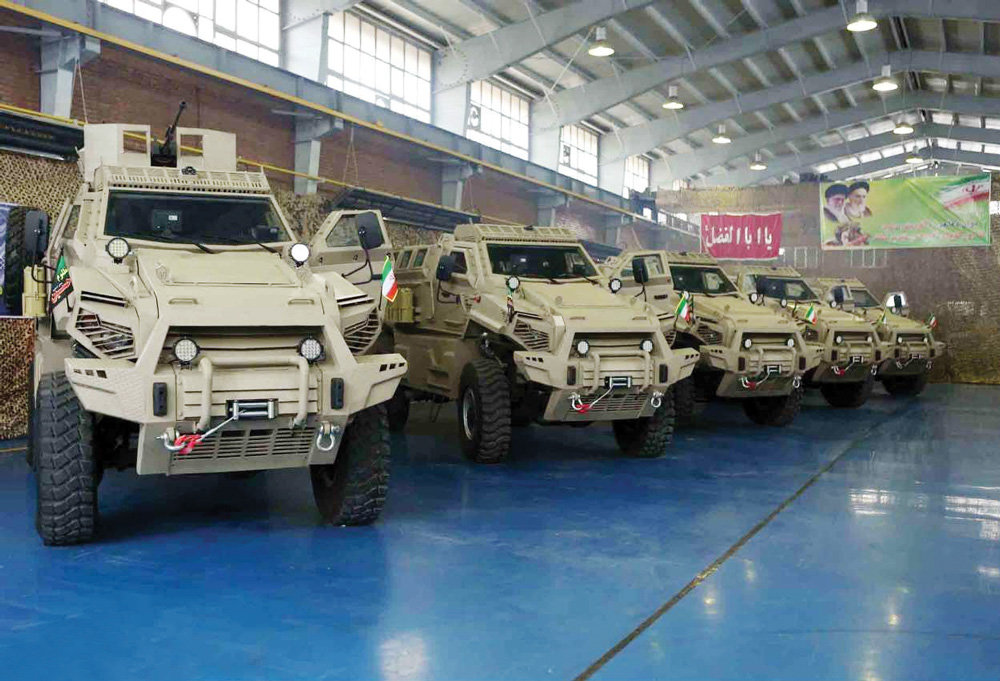Mine-resistant armored vehicle unveiled