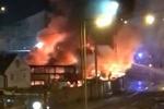 انفجار و آتشسوزی در ترمینالی واقع در جنوب لندن