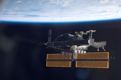 ذرات پرسرعت ایستگاه فضایی بین المللی را سوراخ می کنند