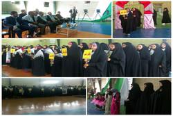 حضور بانوان ورزشکار باحجاب در عرصه های ورزشی از افتخارات بسیج است