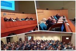 ظريف يشارك في اجتماع غرفة التجارة المشتركة الإيطالية الإيرانية