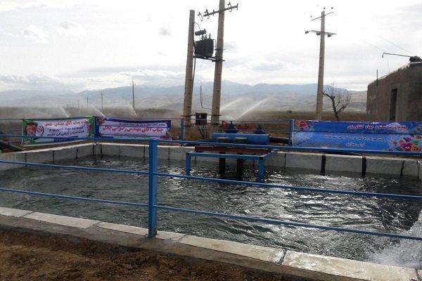 بازدید از طرح ۸۲ هکتاری سیستم آبیاری نوین روستای«گراچغای» نهاوند
