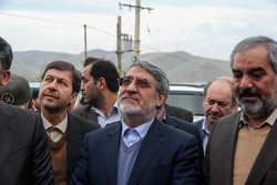 ایرانی وزير داخلہ کا سنندج کا دورہ