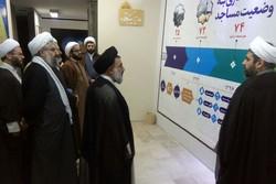 نماینده ولیفقیه در لرستان از نمایشگاه تخصصی مدیریت مسجد بازدید کرد