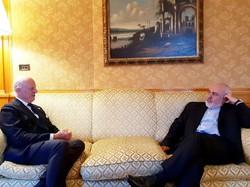 ظریف با نماینده دبیرکل سازمان ملل در امور سوریه دیدار کرد