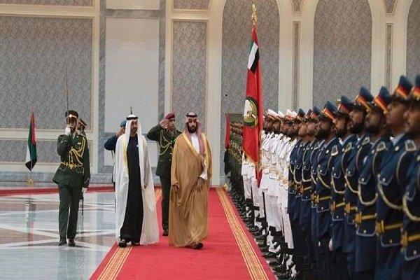 ولیعهد سعودی وارد امارات شد