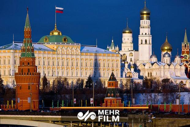 فلم/ روس میں کاخ کریملن کی فضائی حدود میں خصوصی مشقیں