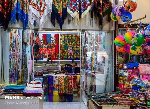 روزهای سرد بازار بندر ترکمن