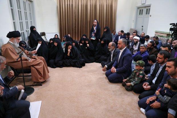 سکیورٹی  شہیدوں نے ملک، نظام اور اسلام کی نمایاں خدمت کی
