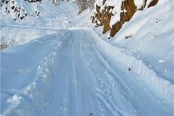 بارش برف در کوهرنگ ادامه دارد/ ارتفاع برف به بالای یک متر رسید
