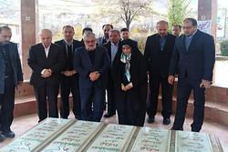 مراسم ادای احترام به مقام شامخ شهدای گمنام دماوند برگزار شد