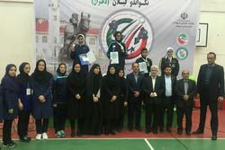تهران قهرمان تکواندو المپیاد استعدادهای برتر ورزشی در رشت شد