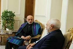 ظريف: إيران تدعم محادثات السلام في افغانستان