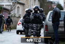 درگیری شدید مردم فرانسه با پلیس این کشور