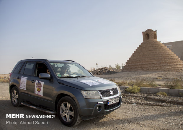 'Silk Road' car racing in Semnan prov.