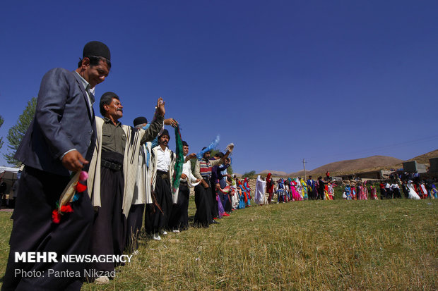 Bahtiyari halkının geleneksel düğünü