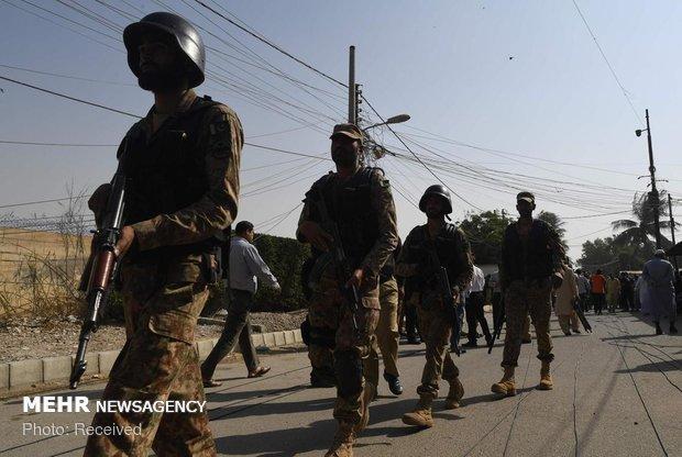 کراچی میں چینی قونصل خانے پر حملے میں ملوث 2 سہولت کار گرفتار