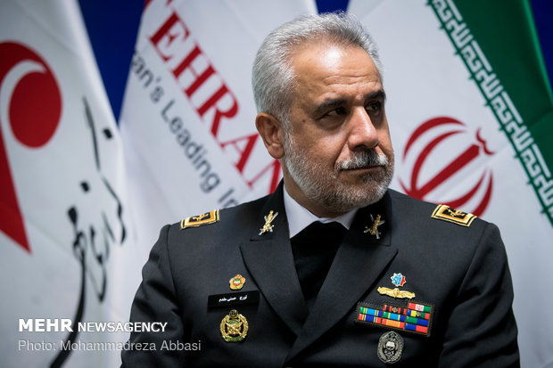 بازدید تورج حسنیمقدم جانشین فرماندهی نیروی دریایی ارتش از خبرگزاری مهر