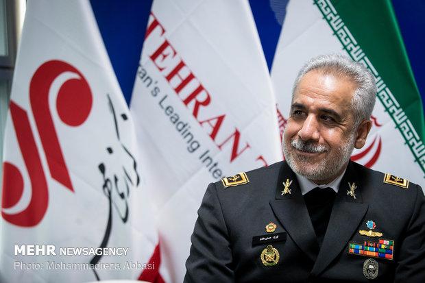 زيارة نائب القائد العام ببقوة البحرية الايرانية لمقر وكالة مهر