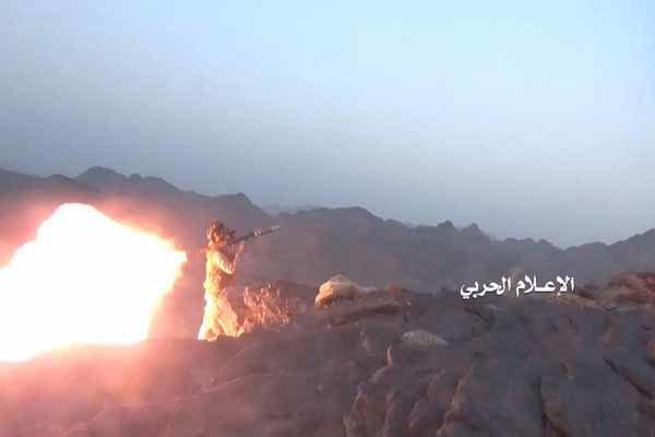 الدفاعات الجوية للجيش اليمني تسقط طائرة استطلاع للتحالف السعودي