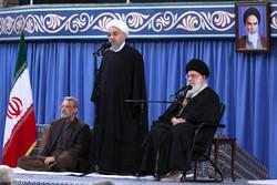 Ruhani: Düşmanlar cinayetlerini görmezden gelmemizi istiyorlar