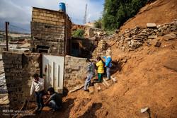 خانه های ساخته شده در جوار کوه مشکل همیشگی منبع آب اهواز است