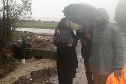آبگرفتگی ۵ روستای شهرستان بروجرد در بارندگیهای شب گذشته