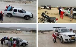 گردشگران یزدی در ساحل عسلویه نجات یافتند