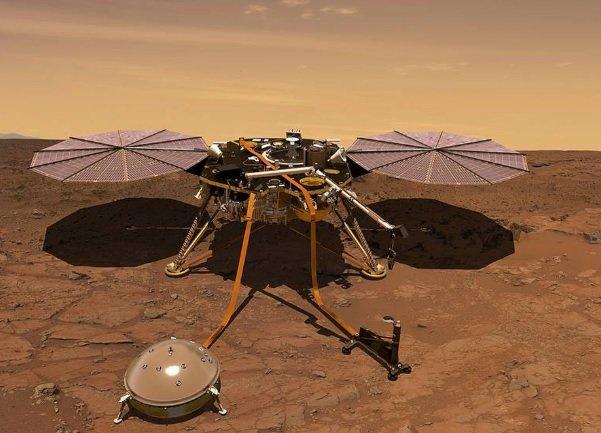 کاوشگر «اینسایت» در مریخ فرود می آید
