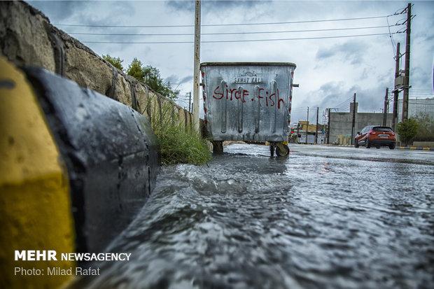 فلم/ صوبہ کہگیلویہ و بویر احمد میں شدید بارش سے عوام کو مشکلات کا سامنا