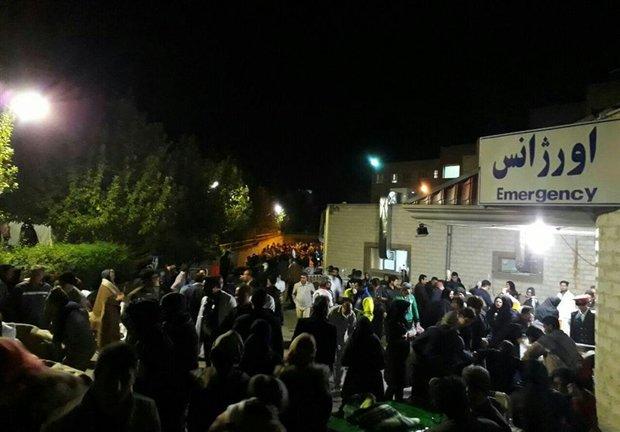 716 hurt in 6.4-magnitude earthquake in western Iran