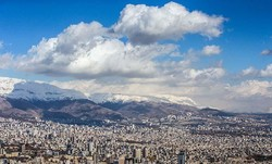 14 days of clean air quality for Tehran