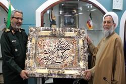 رئیس سازمان عقیدتی سیاسی ارتش با سردار غیب پرور دیدار کرد