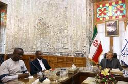 """لاريجاني يعلن استعداد إيران للاستثمار في حقلَي النفط والغاز ب""""غانا"""""""