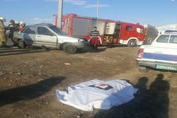 حوادث رانندگی جاده ای در استان مرکزی ۲ تن را به کام مرگ فرستاد