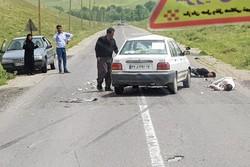 سوانح رانندگی در قزوین یک کشته بر جا گذاشت