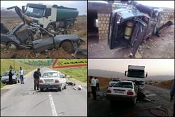 جاده مرگ همچنان در نهاوند میتازد/ برجای ماندن ۱۹۶ کشته و زخمی طی ۷ ماه