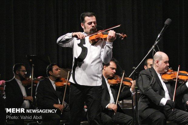 Tehran Symphony Orchestra performs in Tabriz