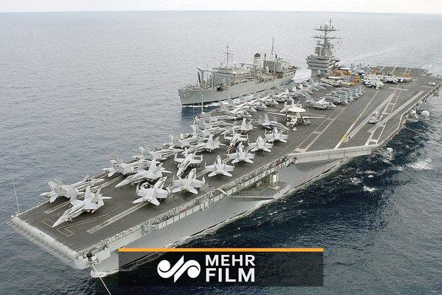 فلم/ روسی فوج کی یوکرائن کی بحری کشتیوں پر فائرنگ