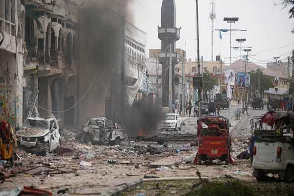 صومالیہ میں صدارتی محل کے قریب زوردار دھماکہ