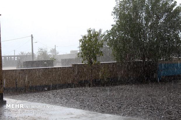 سامانه بارشی فراگیر ۲۰ شهرستان سیستان وبلوچستان را در بر گرفت
