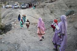 توزیع سبد کالا در روستاهای صعبالعبور سیستان و بلوچستان