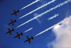 9th Iran Airshow: aerobatics display over Kish Island