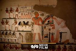 فلم/ مصر میں 3 ہزار سالہ مقبرہ دریافت