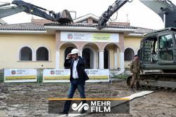 اٹلی کے وزیر داخلہ نے مافیا کے گھر کو تباہ کردیا